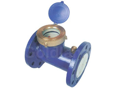 bulk liquid-sealed water meter
