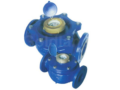 bulk liquid-sealed vane wheel water meter